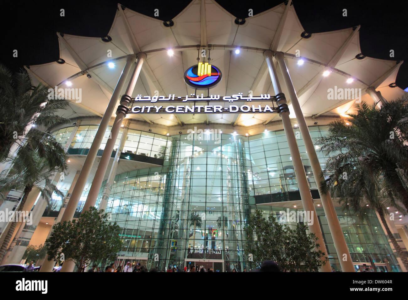 Qatar, Doha, City Center, shopping mall Stock Photo ...