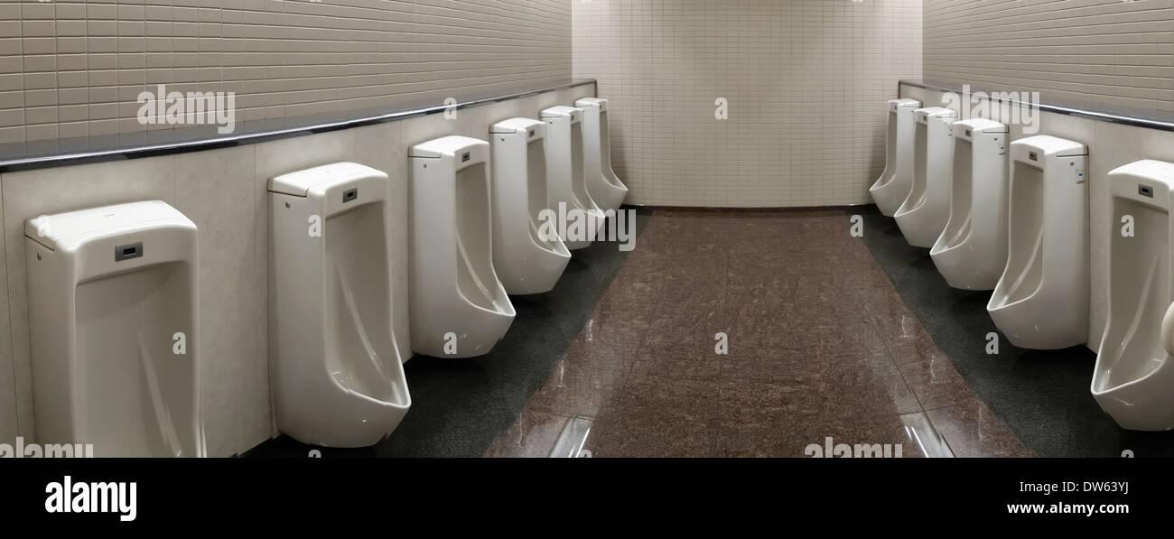 Bathroom Urinal modern urinals in a men's bathroom in narita international airport