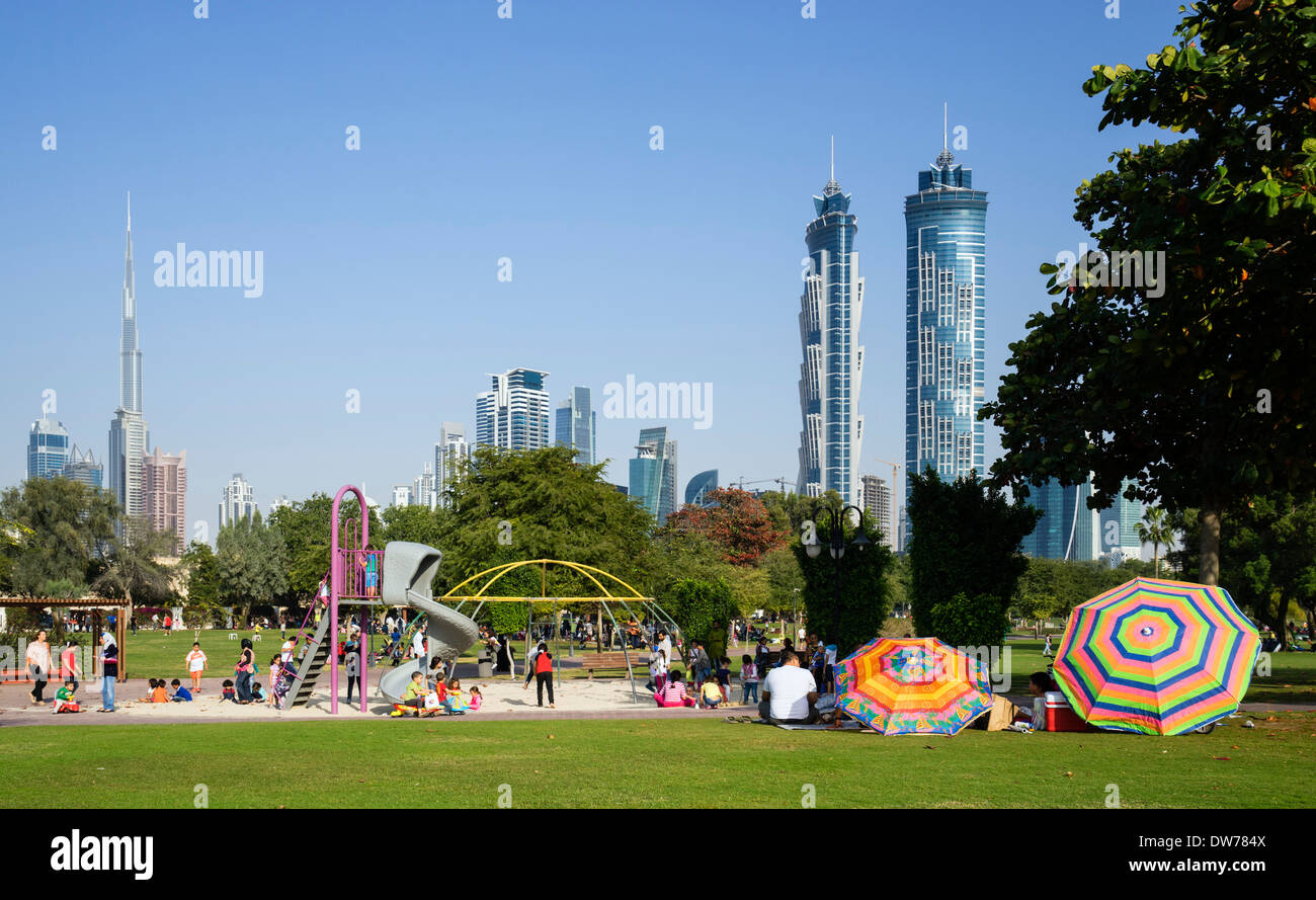 Ihram Kids For Sale Dubai: Playground With People In Al Safa Park In Dubai United