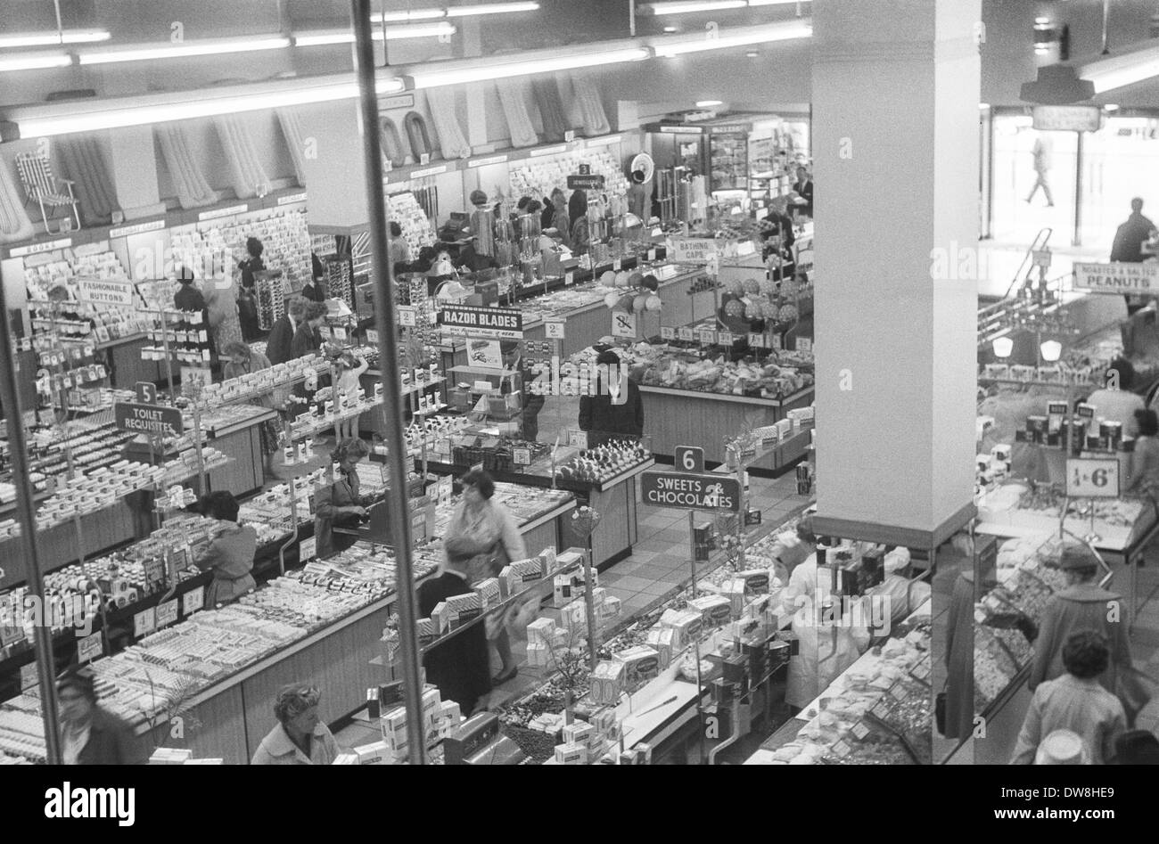 Inside A Woolworths Store During The 1960 S Cardiff