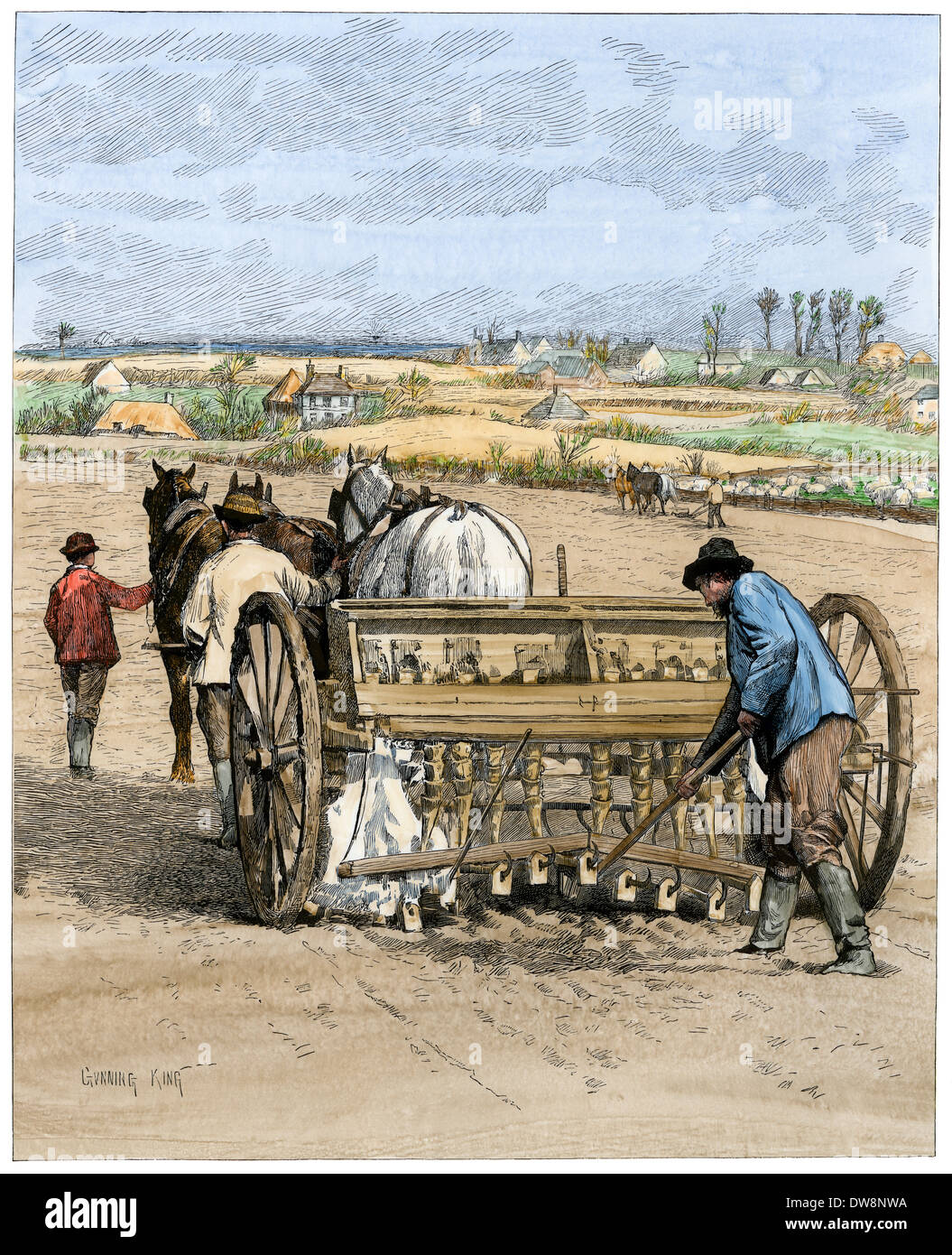 farmer in the 1880s Which is true of american farmers in the 1880s a they had trouble borrowing money because banks would not give farmers credit b they had to borrow money to buy seed, fertilizer, and.