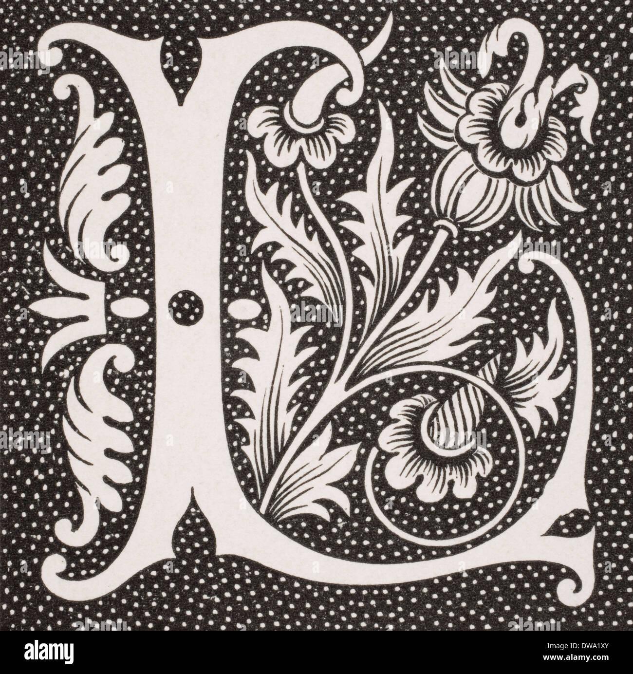 Decorative Letters Similiar Decorative Capital Letter T Keywords