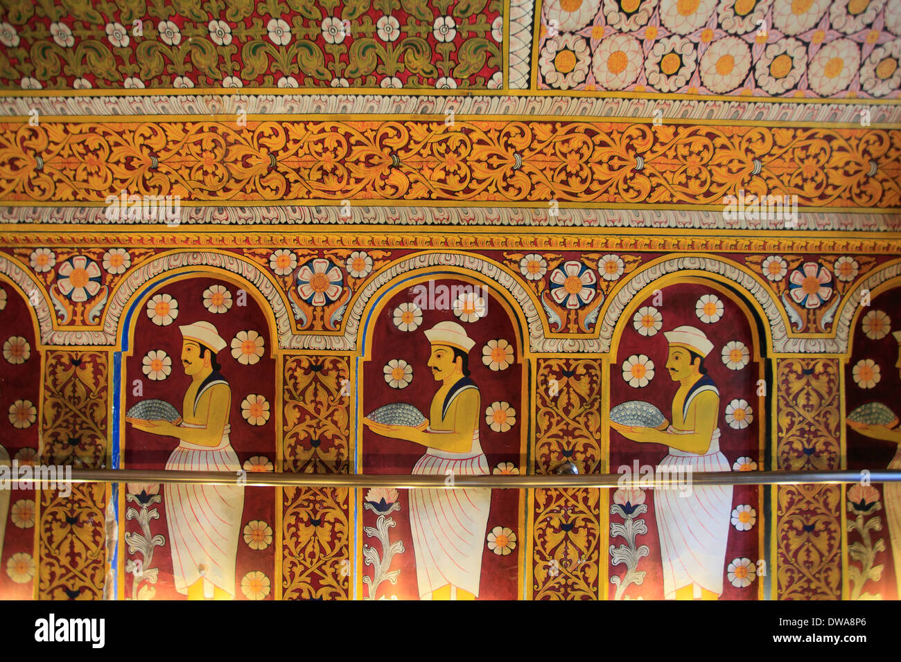 Sri lanka kandy temple of the tooth dalada maligawa for Art decoration sri lanka