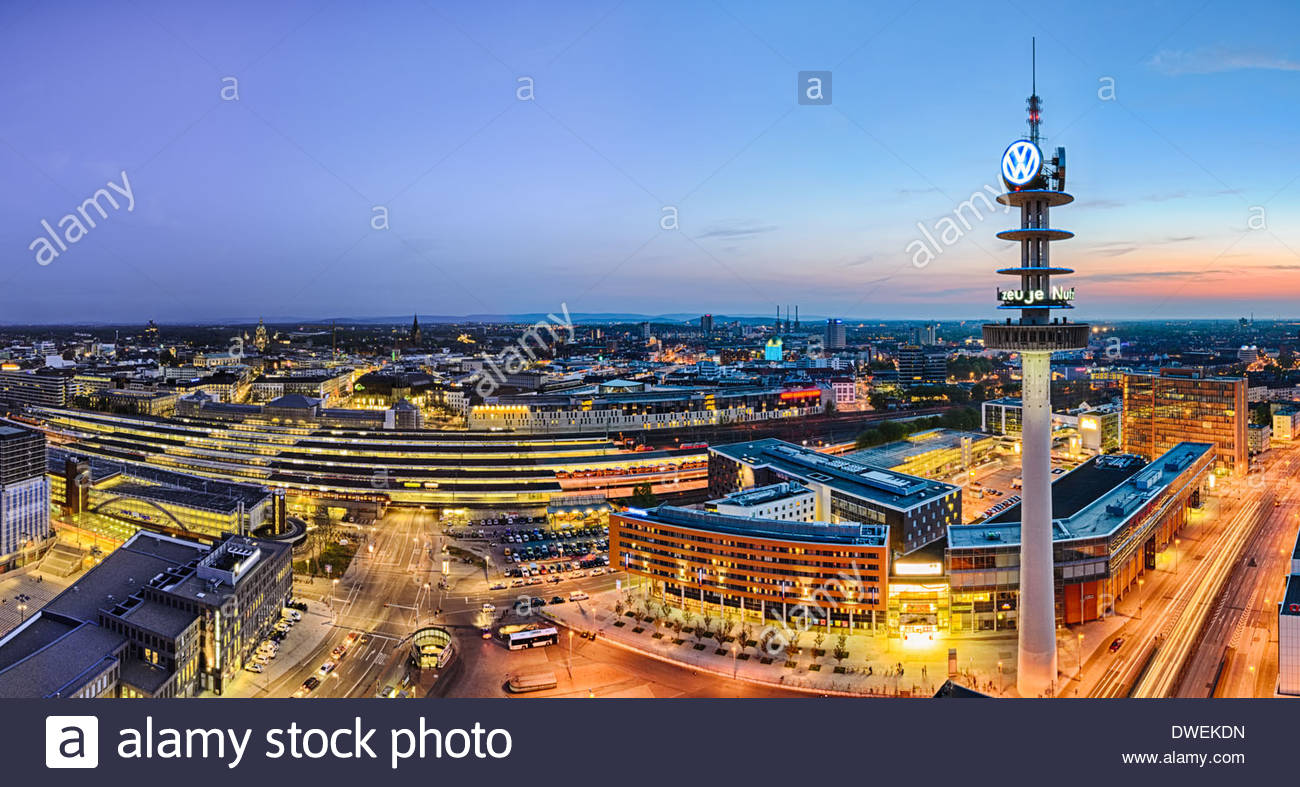 skyline panorama of hannover germany stock photo royalty free image 67320113 alamy. Black Bedroom Furniture Sets. Home Design Ideas