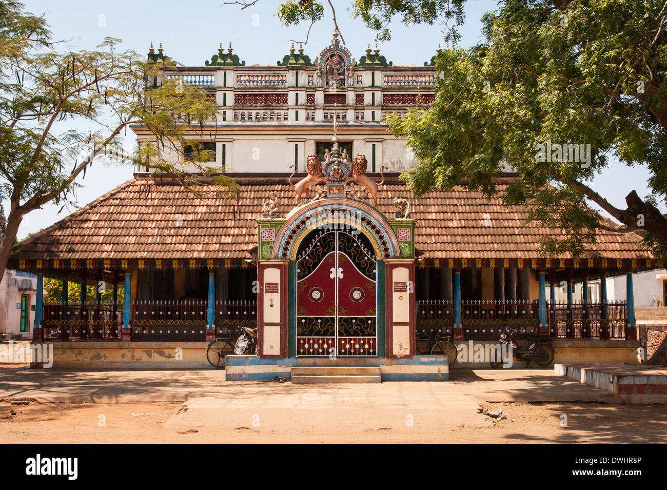 South southern india tamil nadu chettinad karakaikudi for Tamilnadu house images