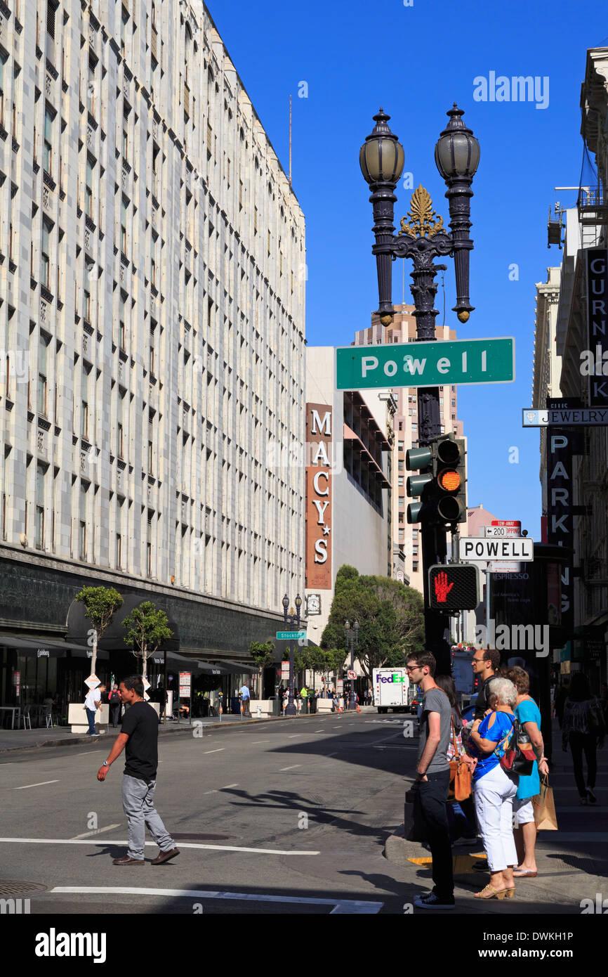 O\u0027 Farrell Street, San Francisco, California, United States of ...