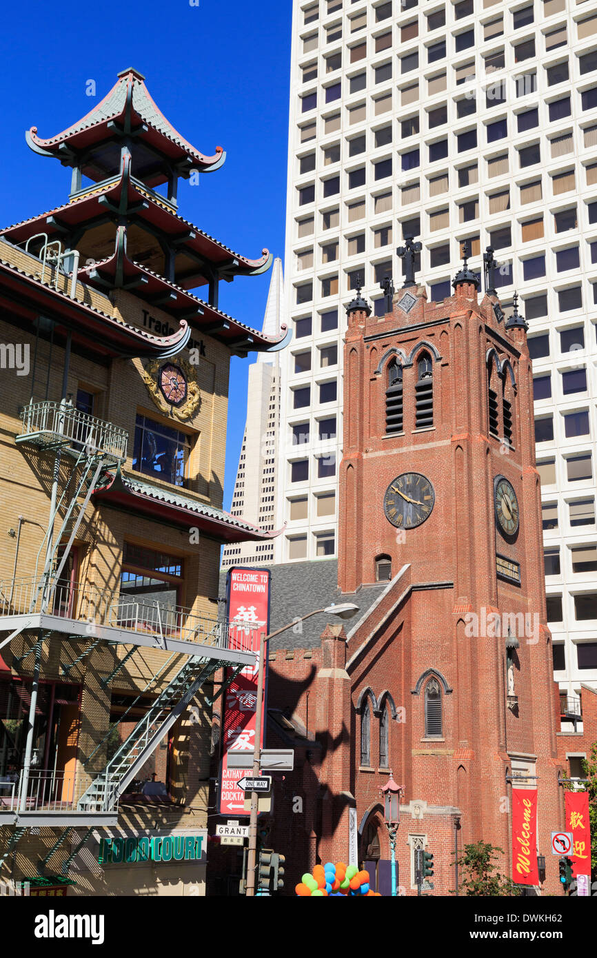 Old St. Mary\u0027s Church, Chinatown, San Francisco, California ...