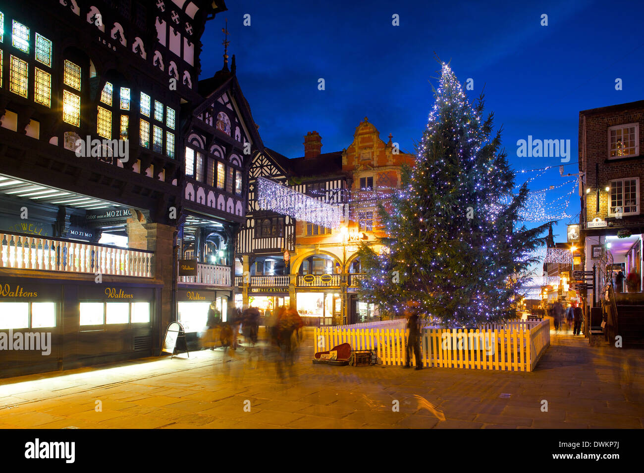 Cheshire United Kingdom  city photos gallery : ... at Christmas, Chester, Cheshire, England, United Kingdom, Europe