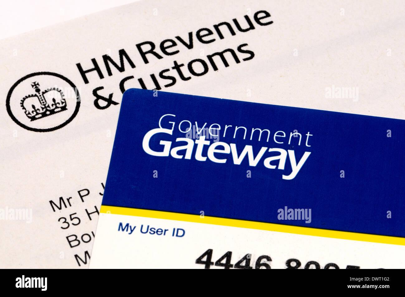 British tax - HM Customs and Revenue Government Gateway ...