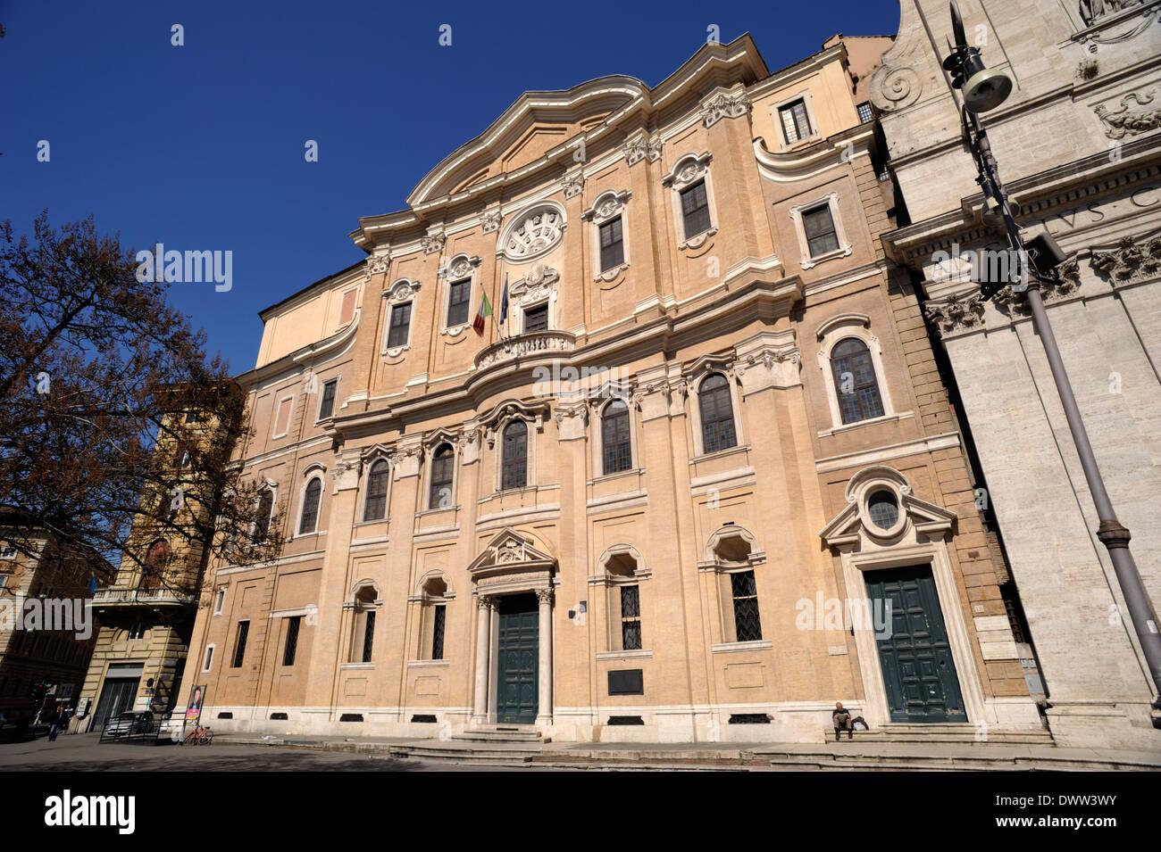 italy, rome, Oratorio dei Filippini (Borromini, 17th ...