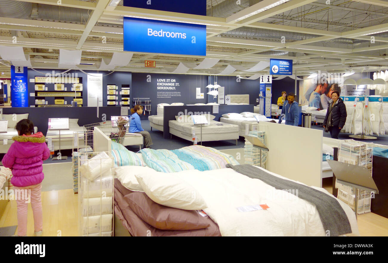 Ikea Store Furniture Selection In Toronto, Canada