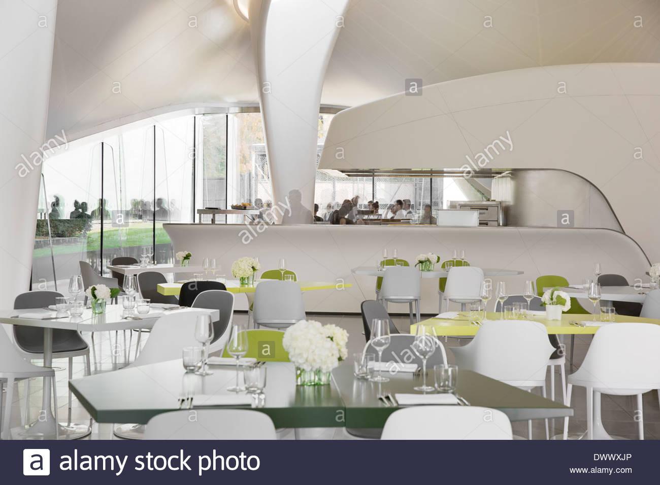 The gallery for gt zaha hadid restaurant interior design