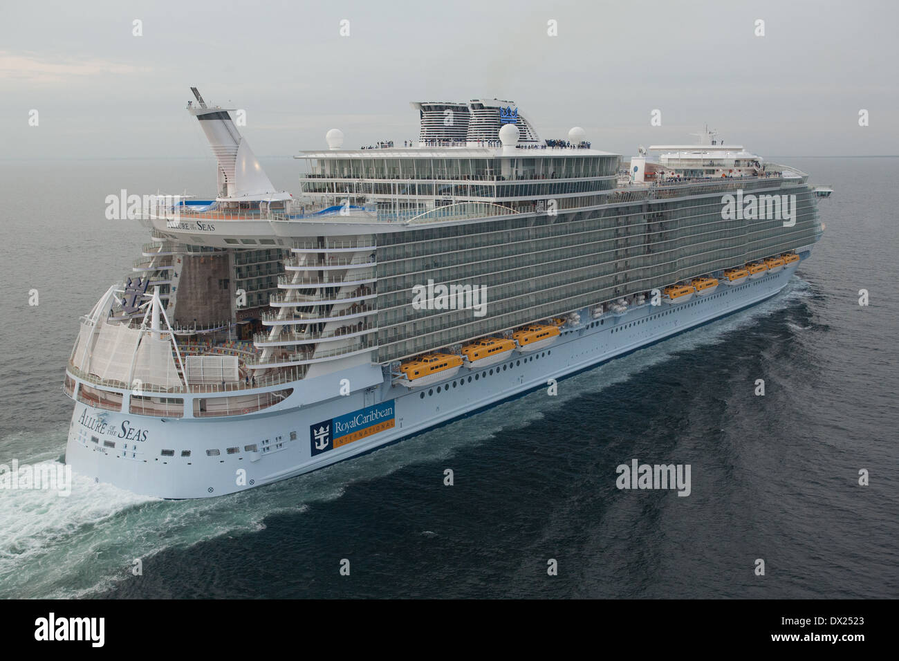 Aerial photo of allure of the seas a cruise ship owned by royal stock photo royalty free image - The allure of the modular home ...