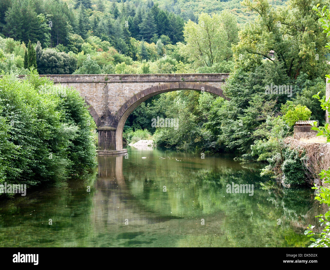 River And Nature In The French Countryside Stock Photo Royalty - French country side