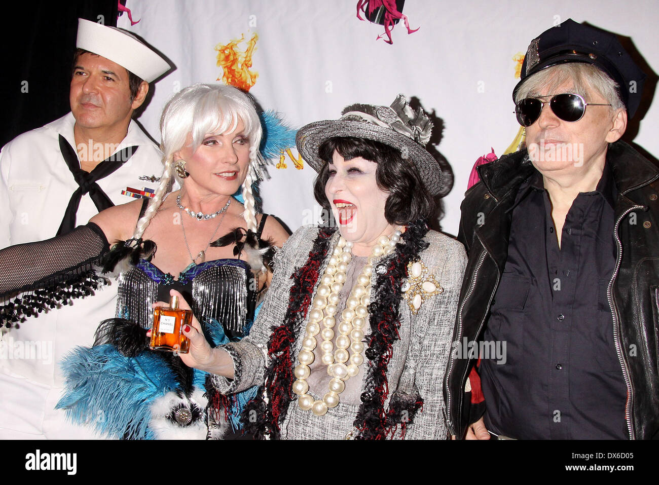 Clem Burke, Debbie Harry, Bette Midler and Chris Stein attending ...