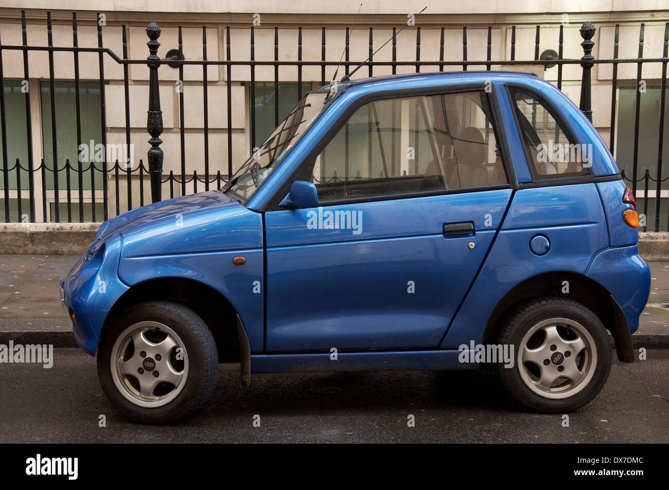 a small electric car manufactured in india this g wiz automatic stock photo royalty free image. Black Bedroom Furniture Sets. Home Design Ideas