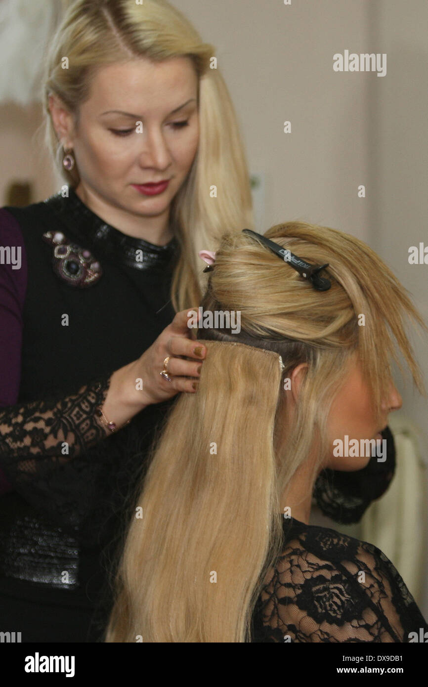 Stacey solomon at tatiana hair extensions salon in london london stacey solomon at tatiana hair extensions salon in london london england 131112 featuring stacey solomon where london u pmusecretfo Image collections