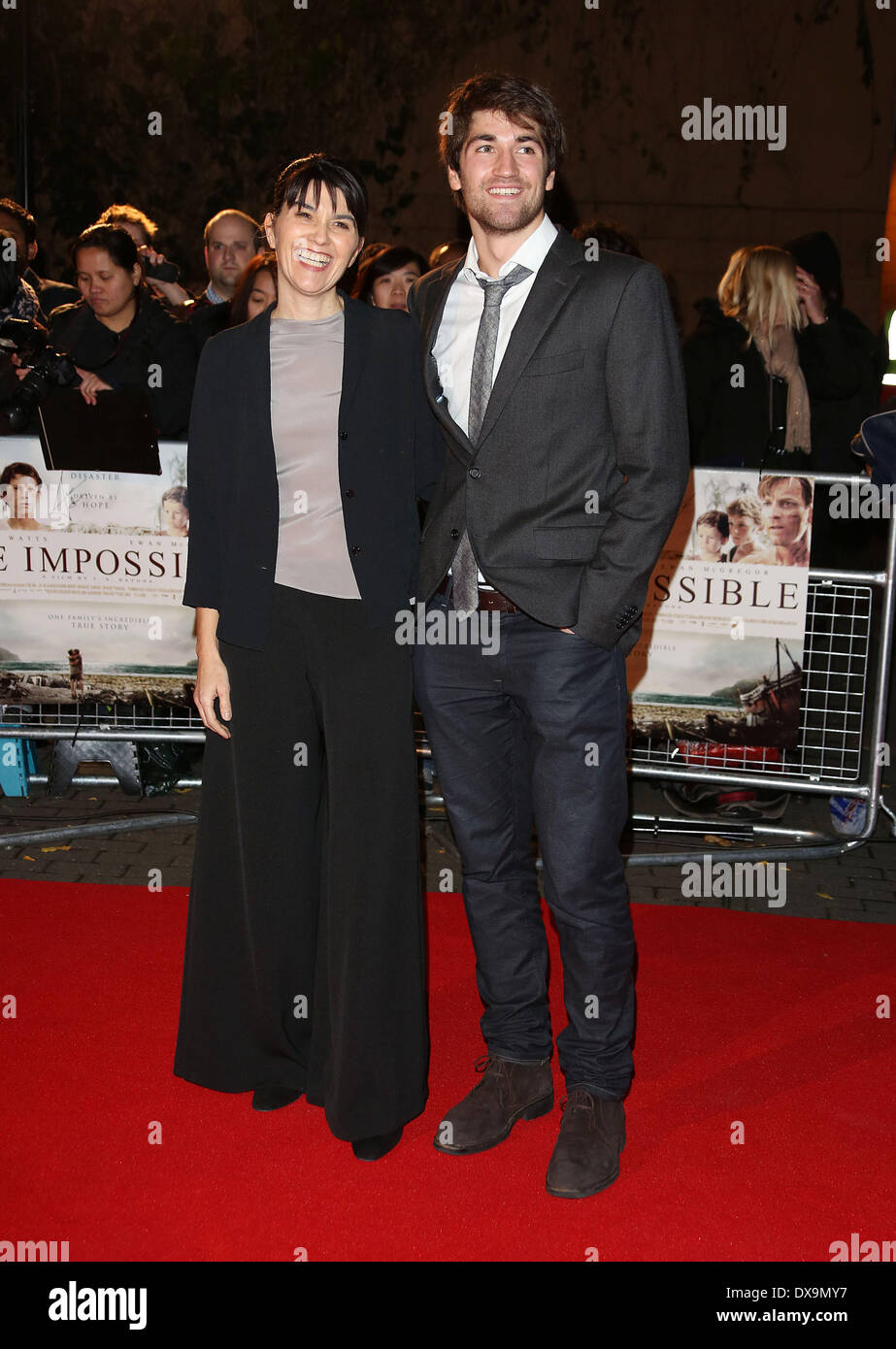 Maria Belon and Lucas Belon The Impossible UK premiere ...