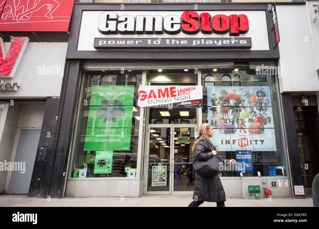 A gamestop store in greenwich village in new york stock photo a gamestop store in greenwich village in new york sciox Choice Image