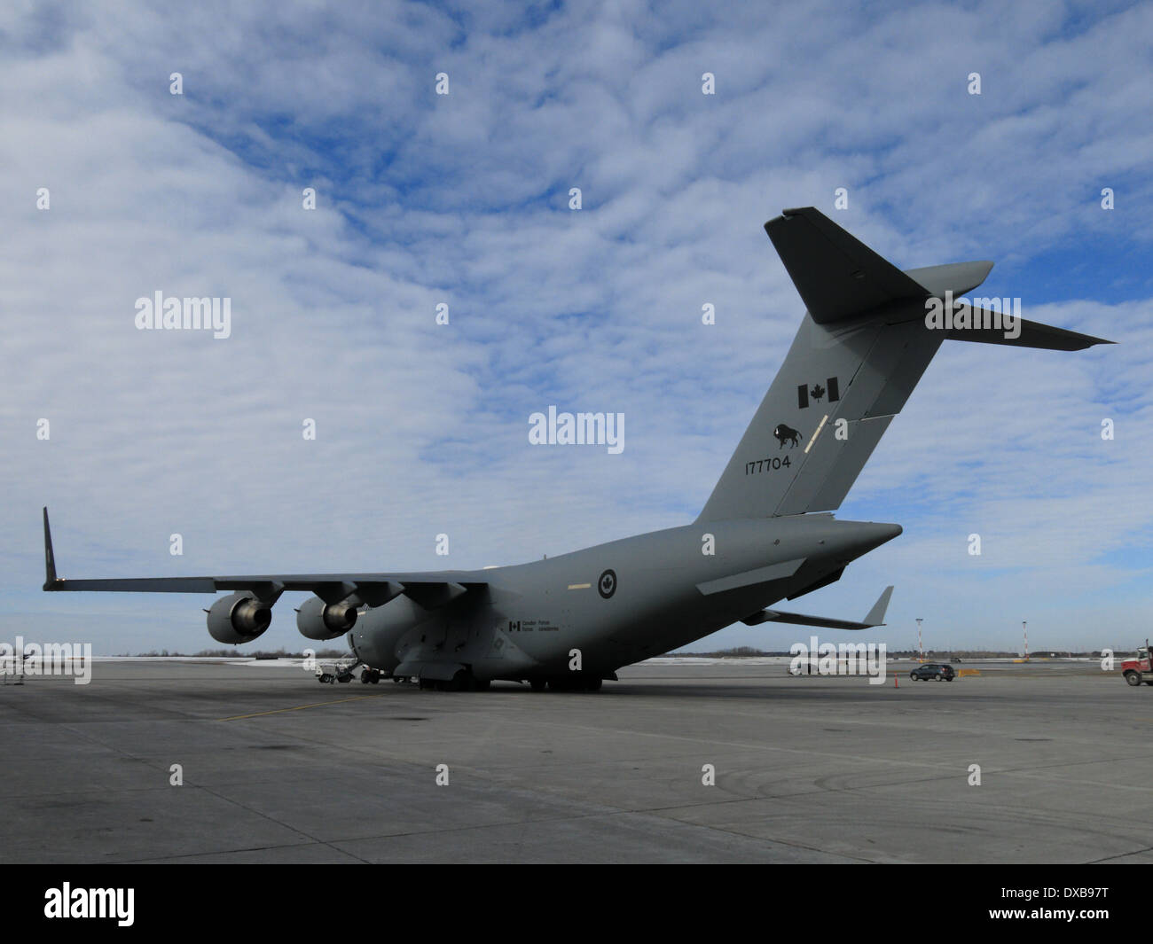 C17 Aircraft Carrier landing  B29s Over Korea