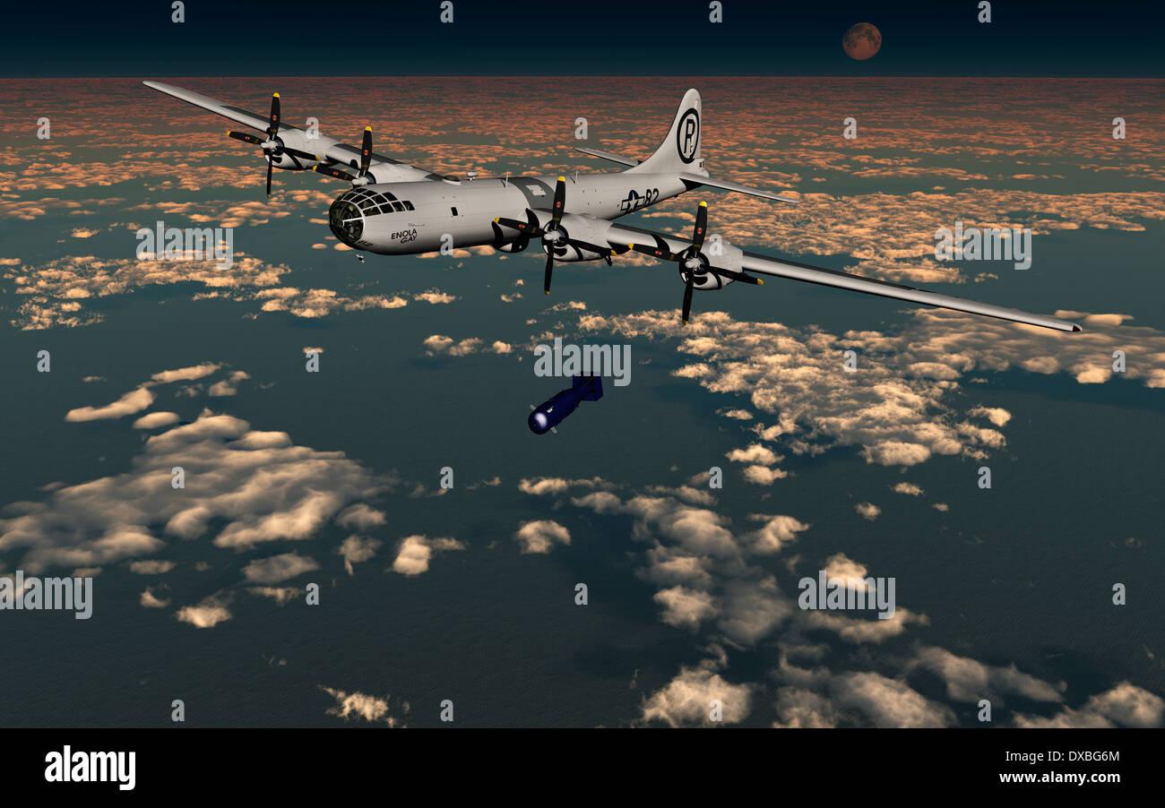 Enola Gay Bomber 83