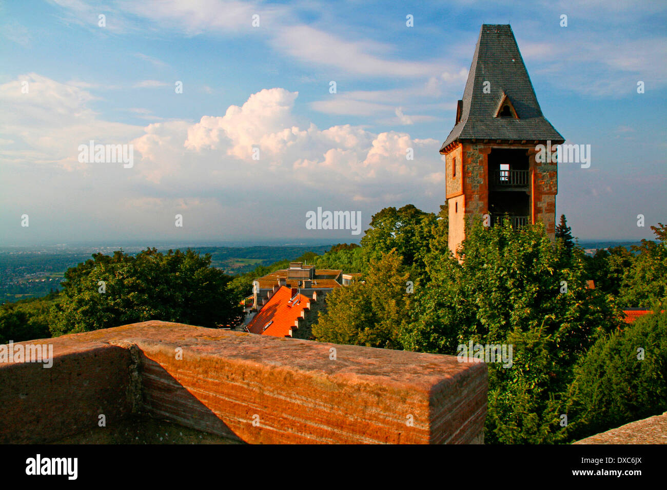 Castle Frankenstein, Darmstadt Stock Photo, Royalty Free Image ...