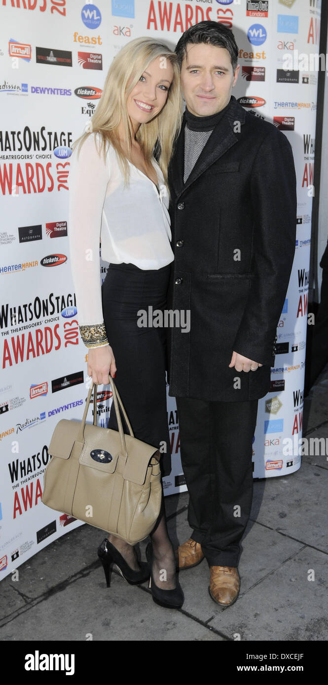 Claire Chambers and Tom Chambers Whatsonstage Awards Concert