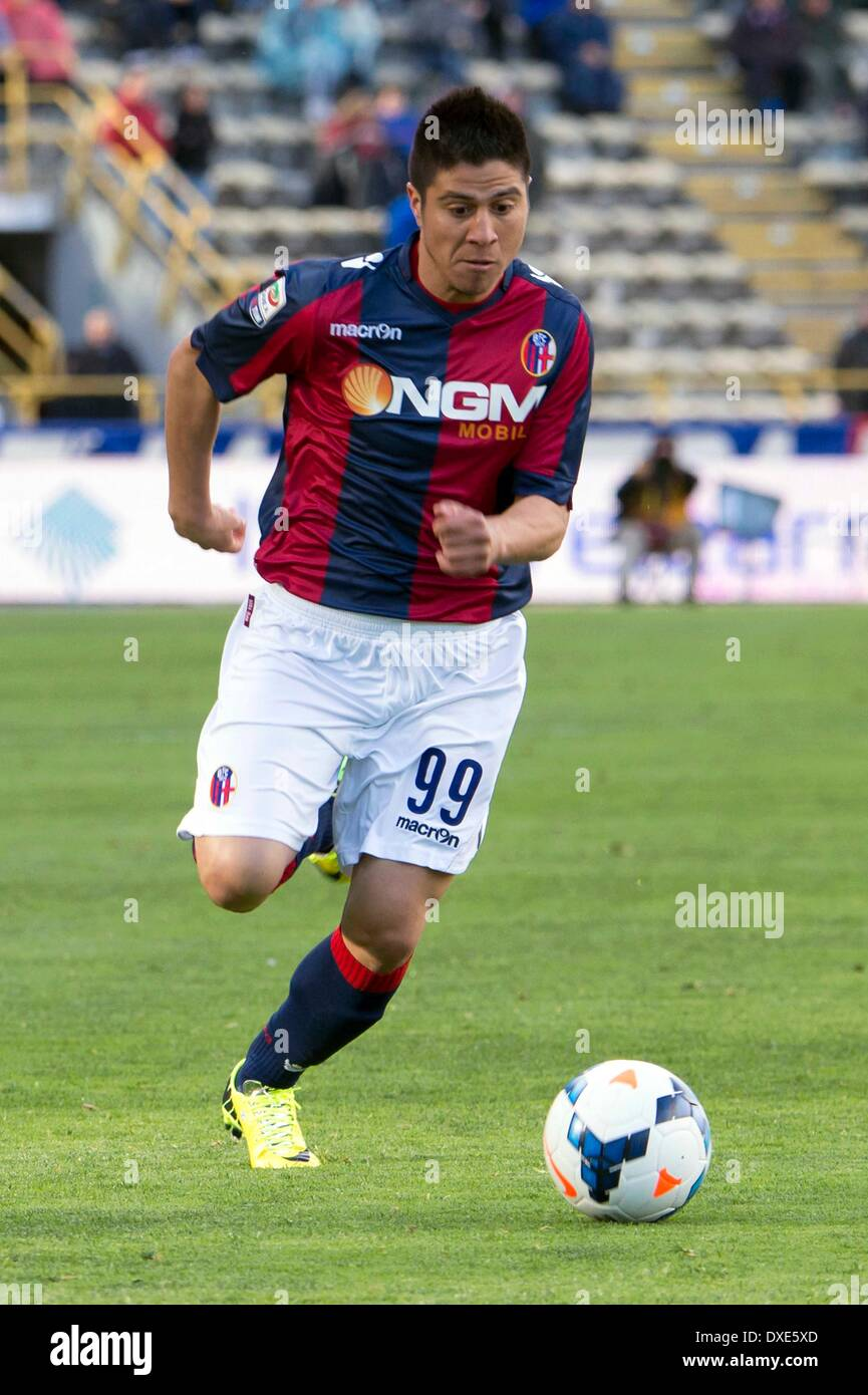 Jonatan Cristaldo (Bologna), MARCH 23, 2014 - Football / Soccer ...
