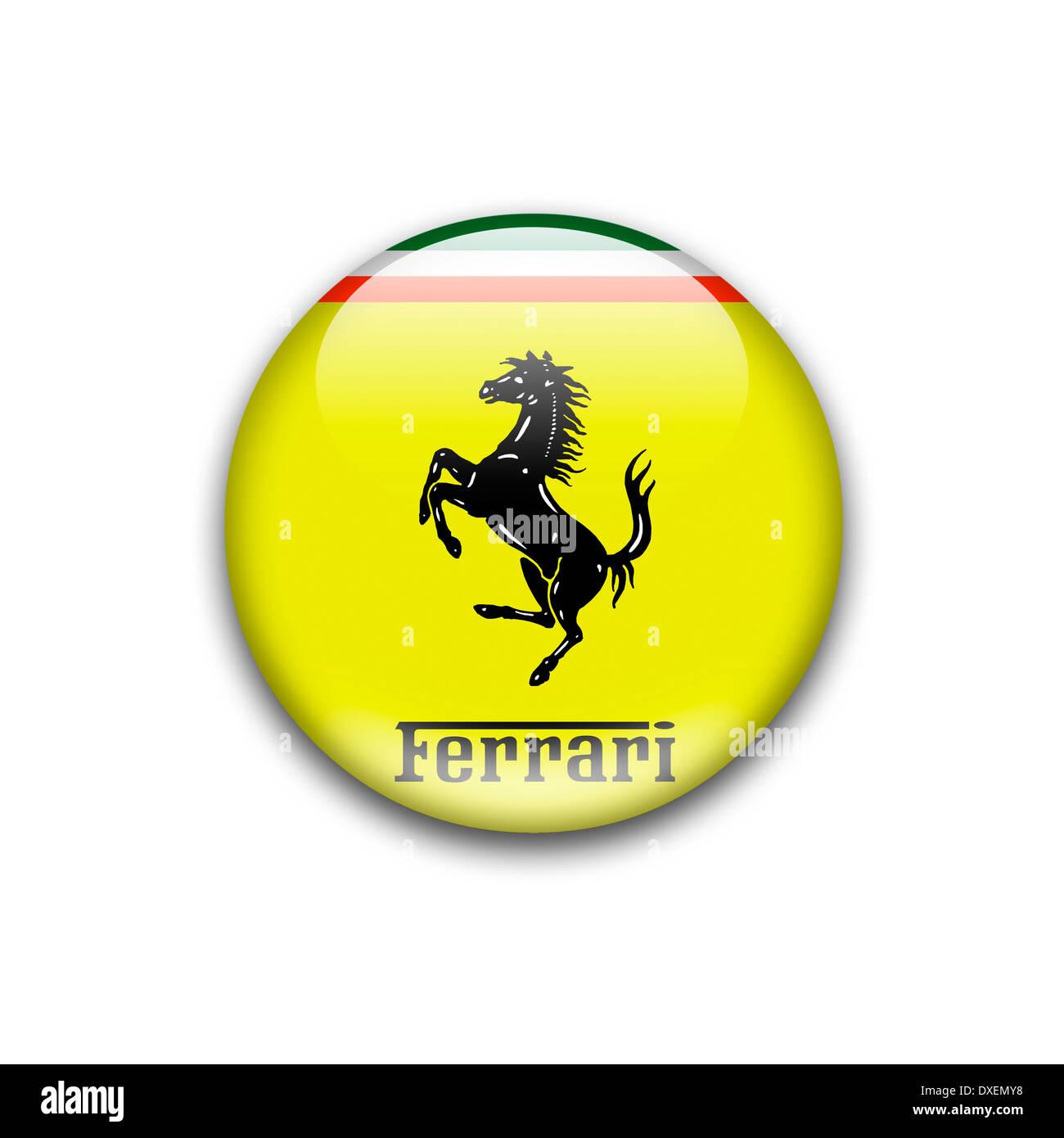 100 Ferrari Logo Sketch Salon Logo Stock Photos
