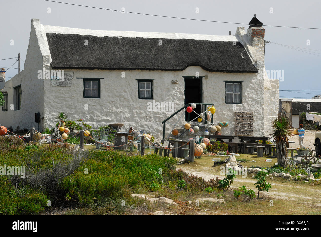 Fisherman 39 s cottage arniston western cape stock photo royalty free image 67970191 alamy - The fishermans cottage ...