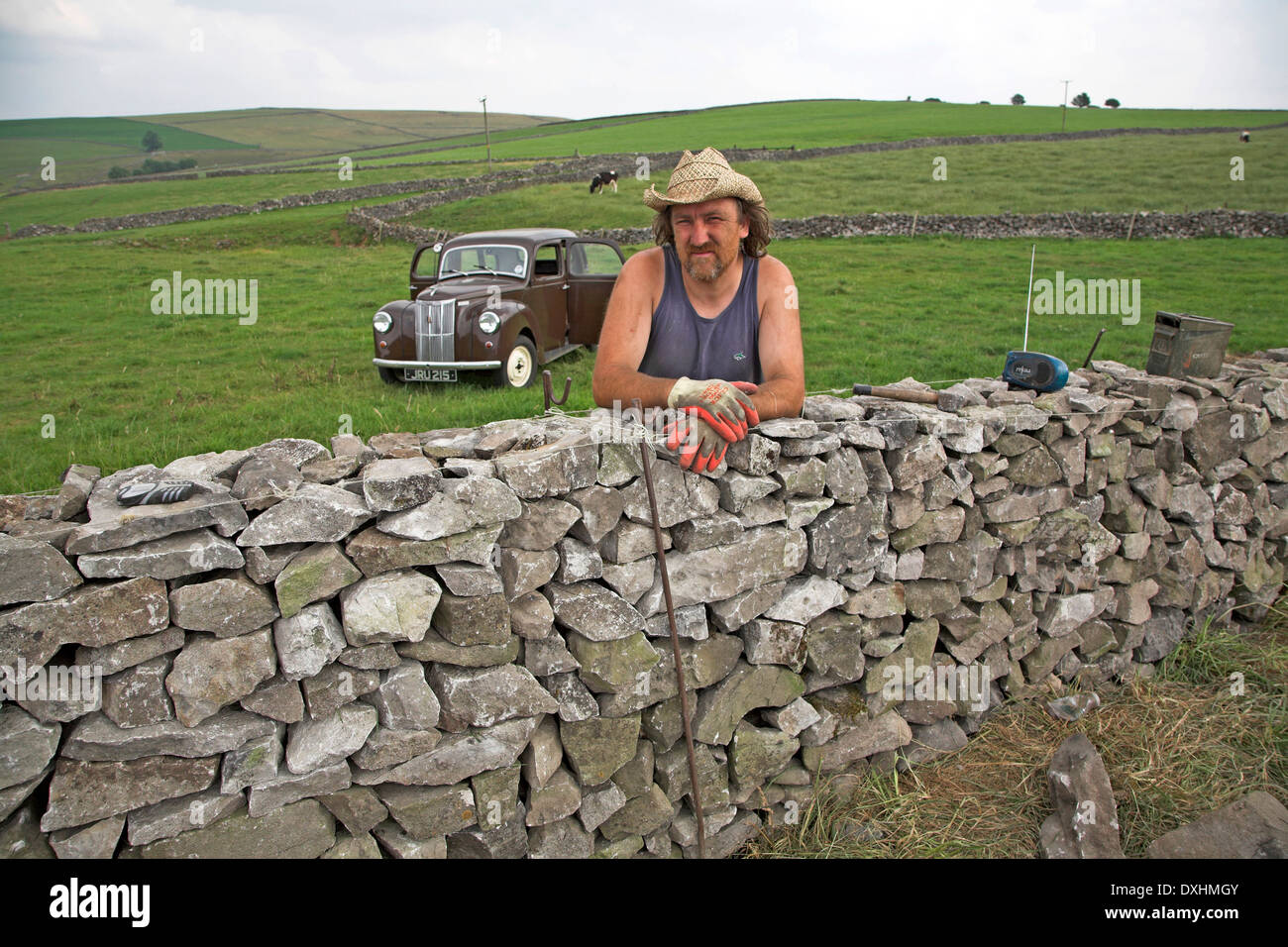 how to build a dry stone building