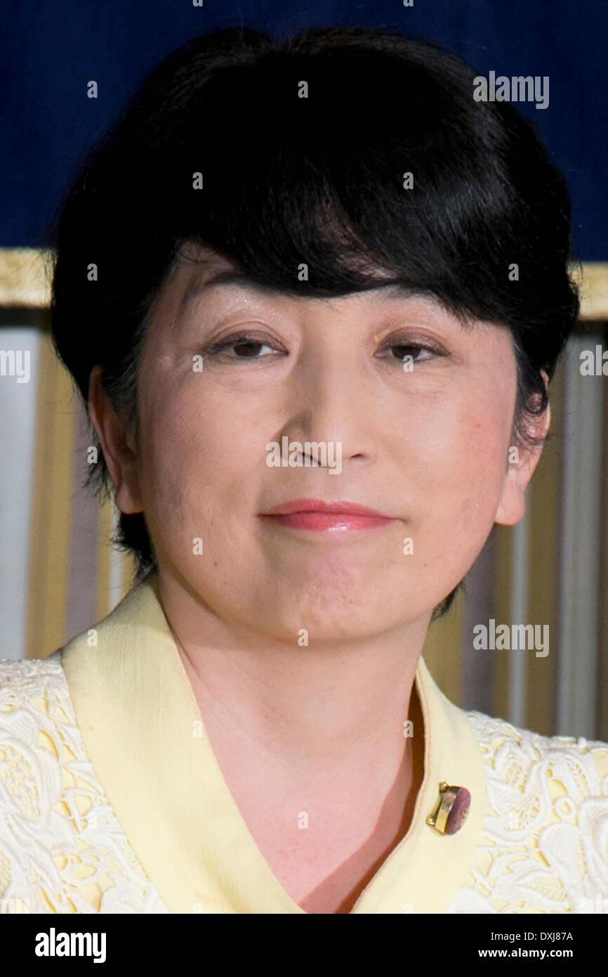 Download preview image - tokyo-japan-mizuho-fukushima-member-of-the-social-democratic-party-DXJ87A