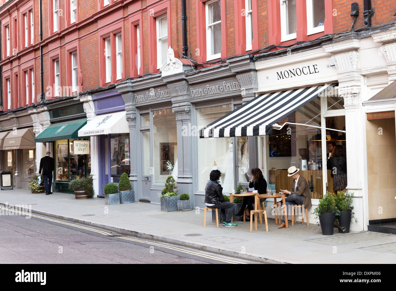 Small shops and boutiques in chiltern street marylebone for Small boutiques