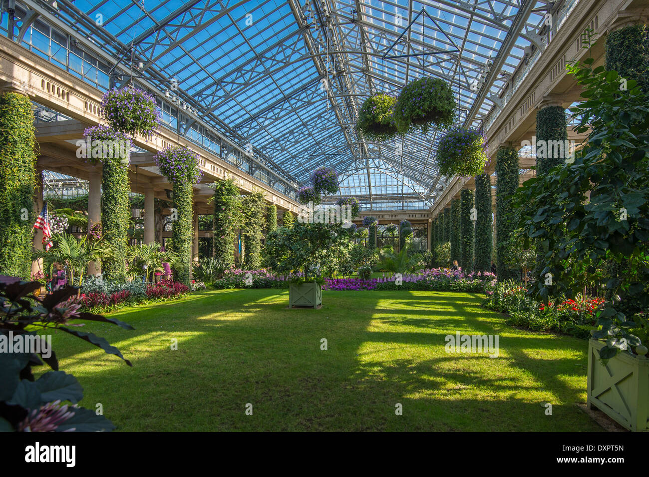 Longwood Gardens Conservatory Garden Ftempo