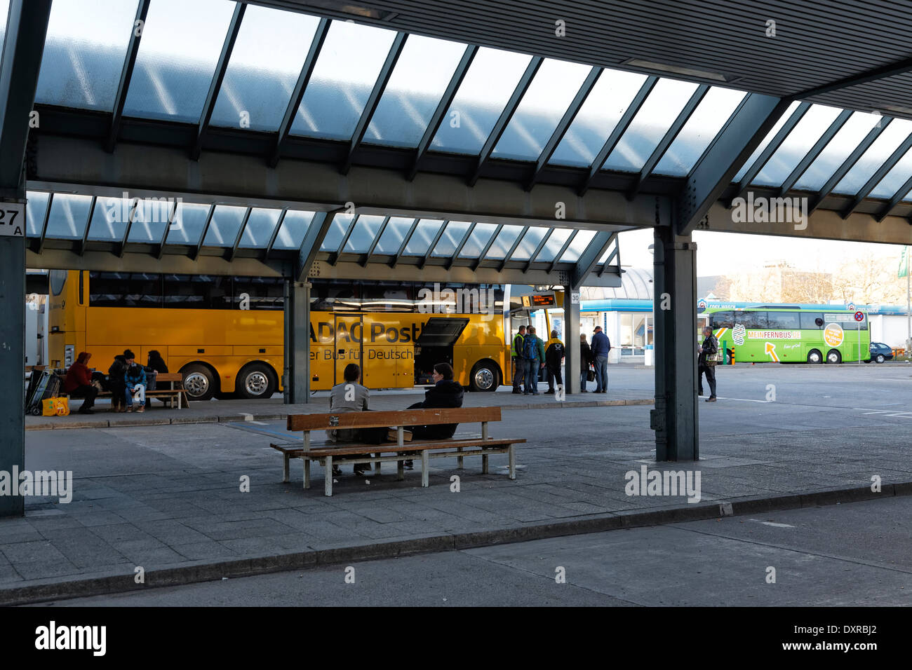 berlin germany central bus station berlin stock photo royalty free image 68126186 alamy. Black Bedroom Furniture Sets. Home Design Ideas