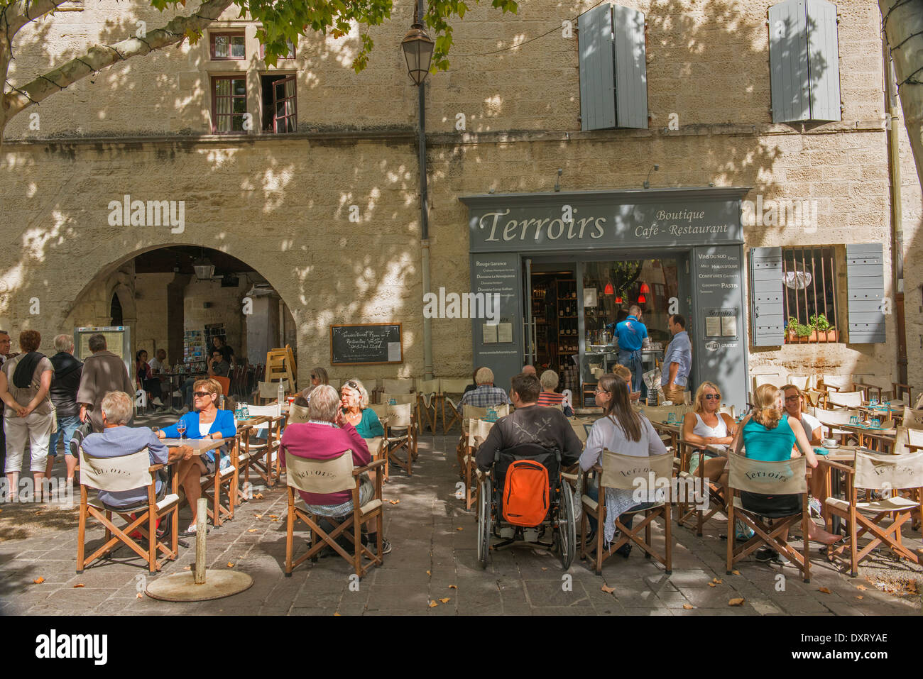 Restaurant Place Aux Herbes Uzes