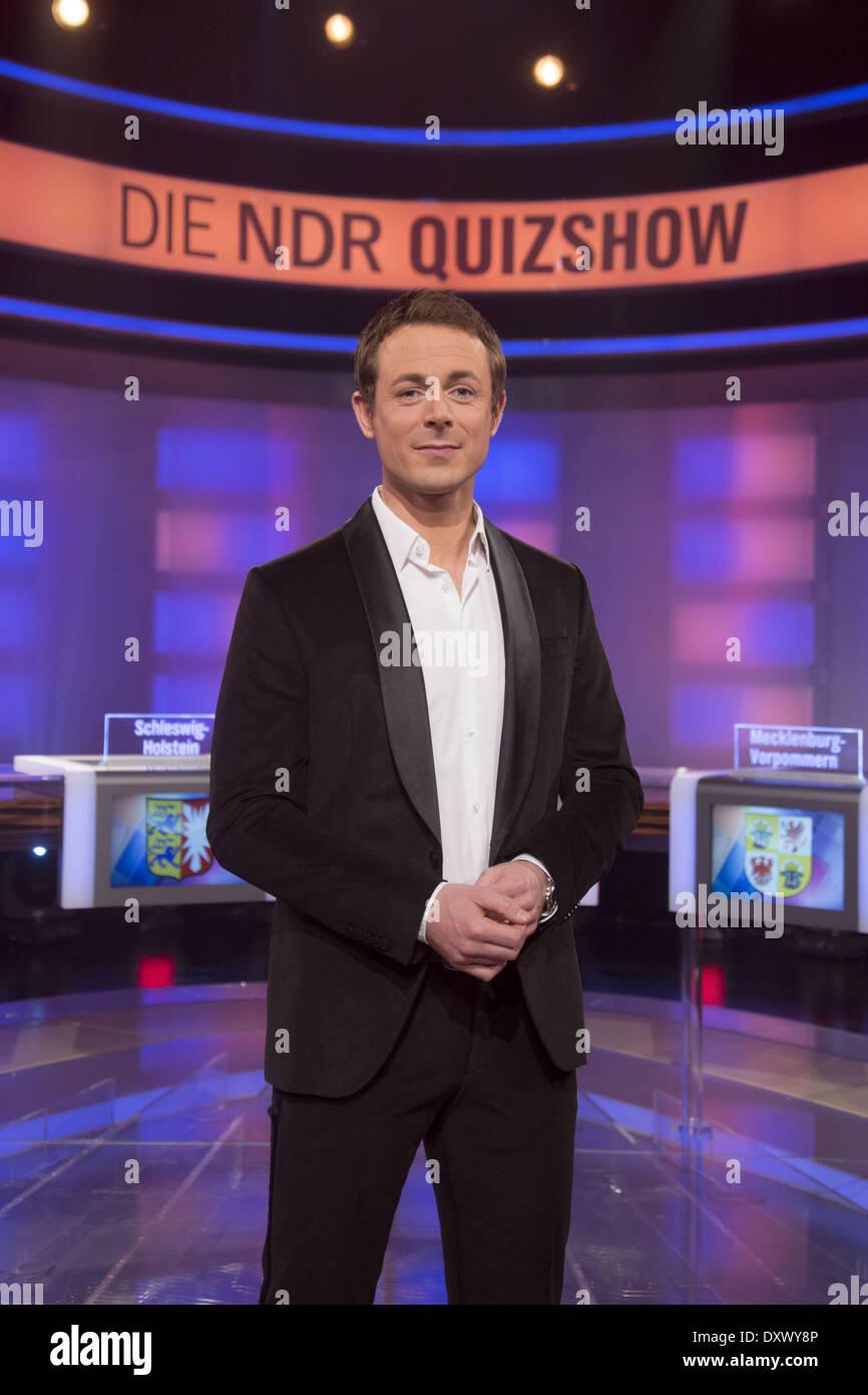 alexander bommes presents the new german tv show ndr quizshow at atelier 5 studio where hamburg - Alexander Bommes Lebenslauf