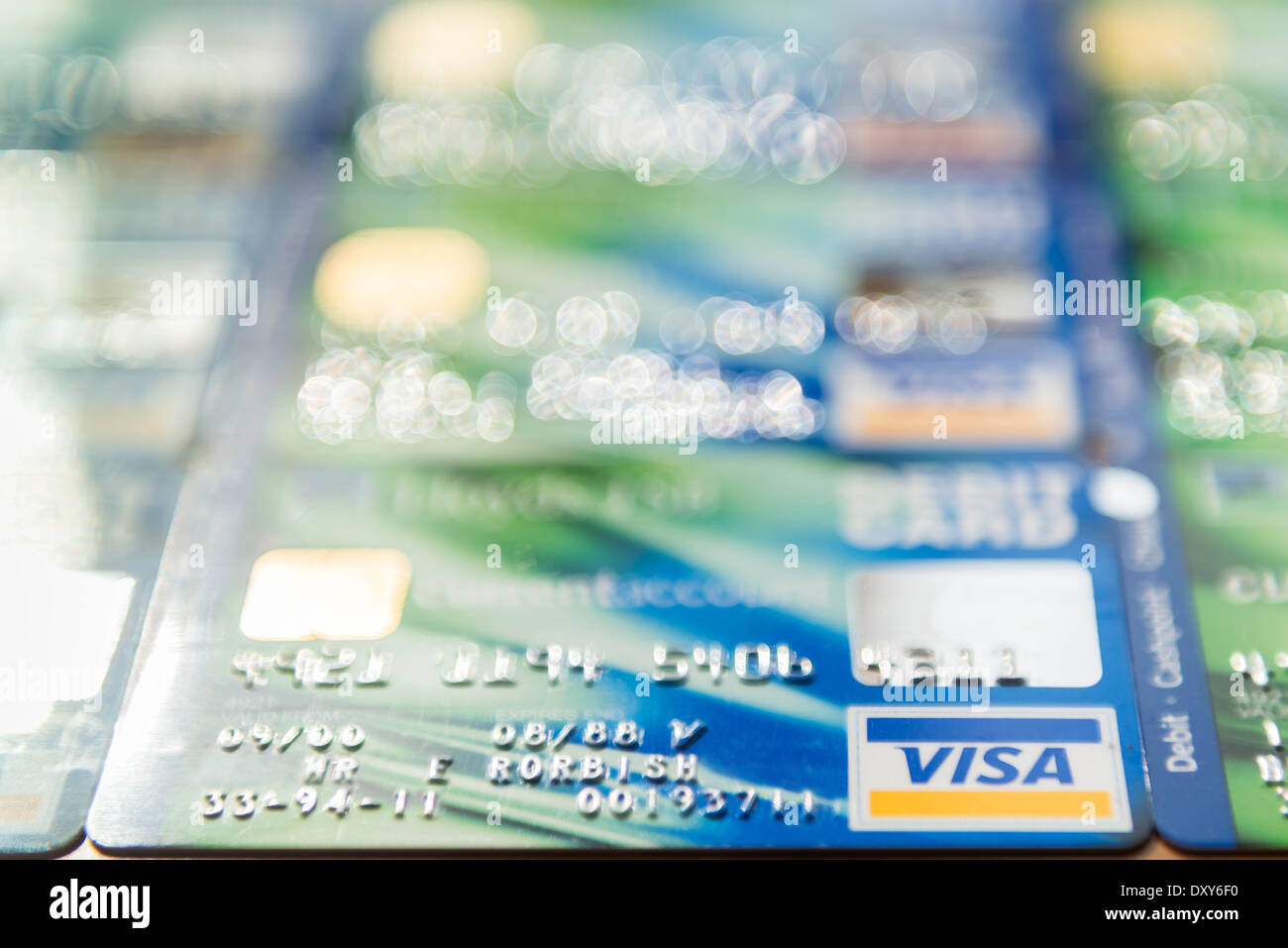 Lloyds tsb bank credit card issued in the uk stock photo royalty lloyds tsb visa debit credit cards in selective focus stock photo magicingreecefo Image collections
