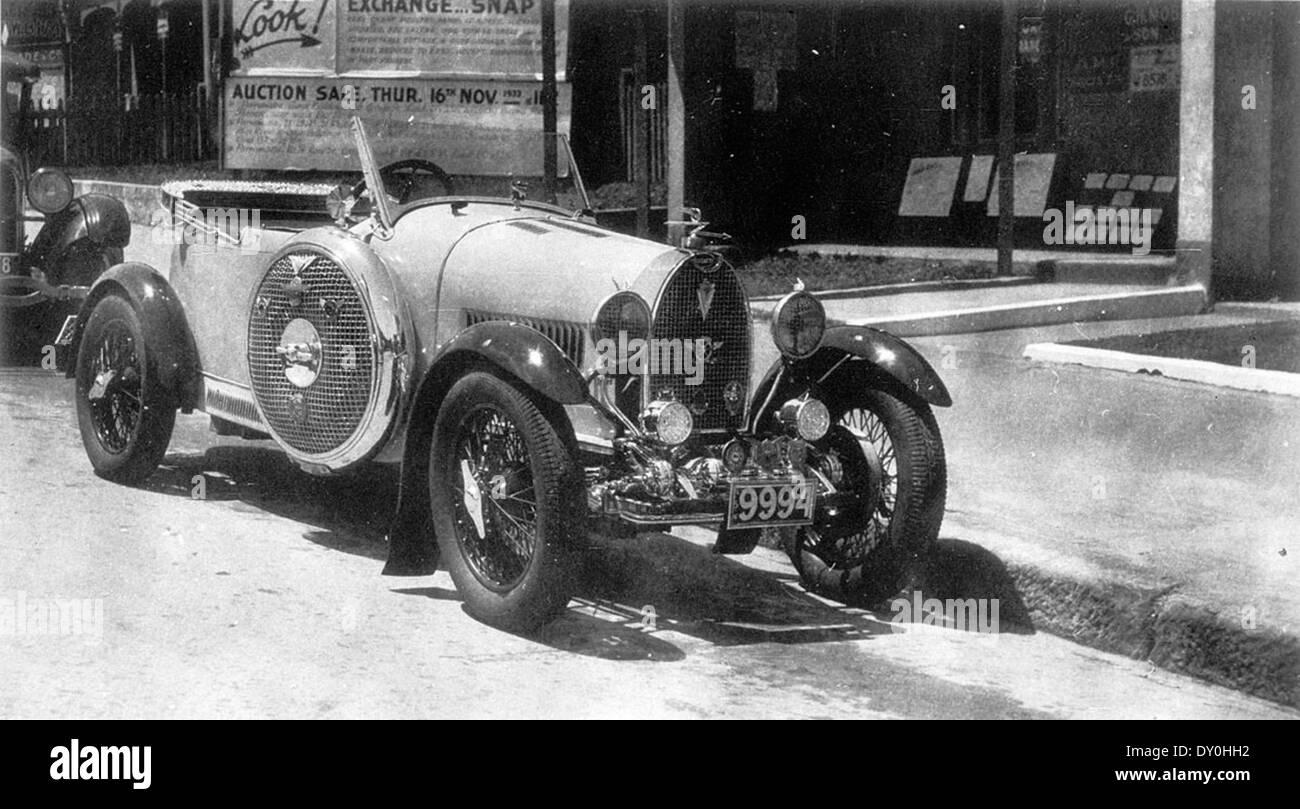 Bugatti Type 40, belonging to R.C. Thomas, probably Parramatta ...