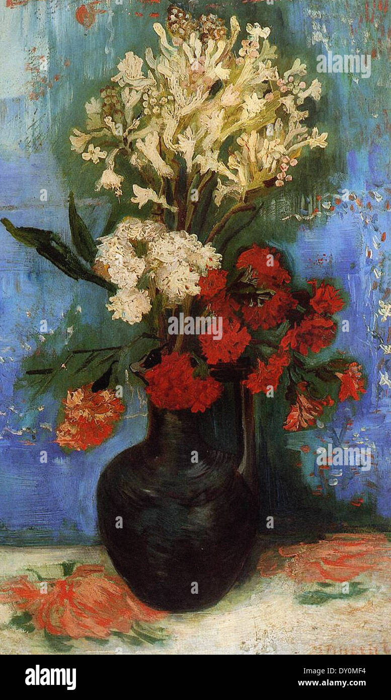 Vincent van gogh vase with carnations and other flowers stock vincent van gogh vase with carnations and other flowers reviewsmspy