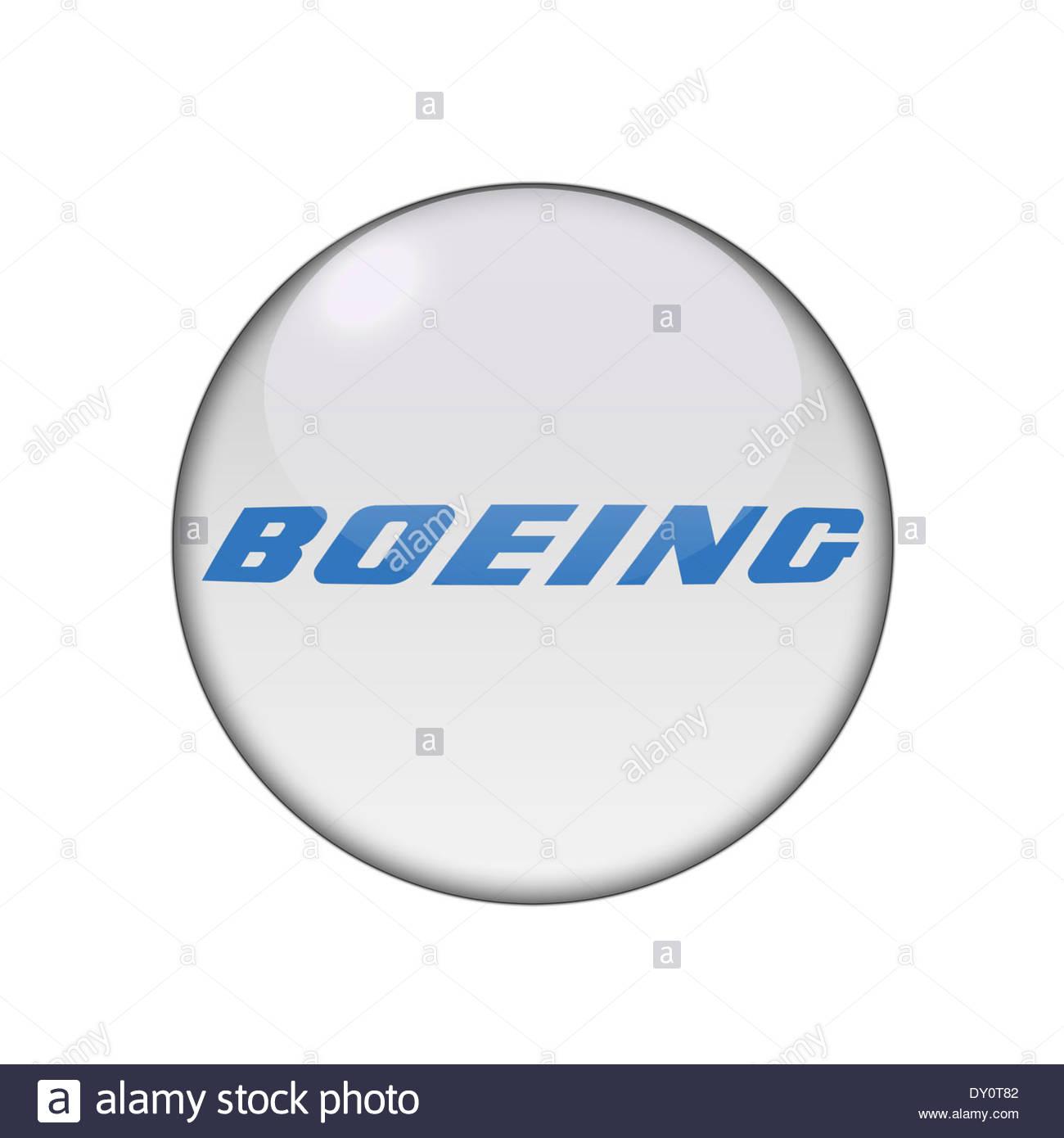Boeing icon logo stock photo 68245858 alamy boeing icon logo stock photo buycottarizona Image collections