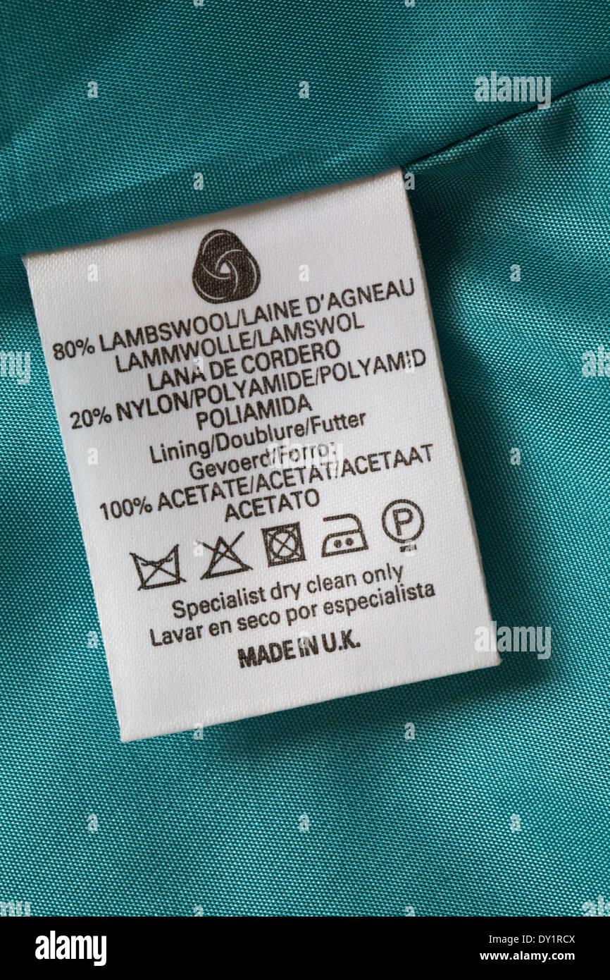 Label Nylon 72