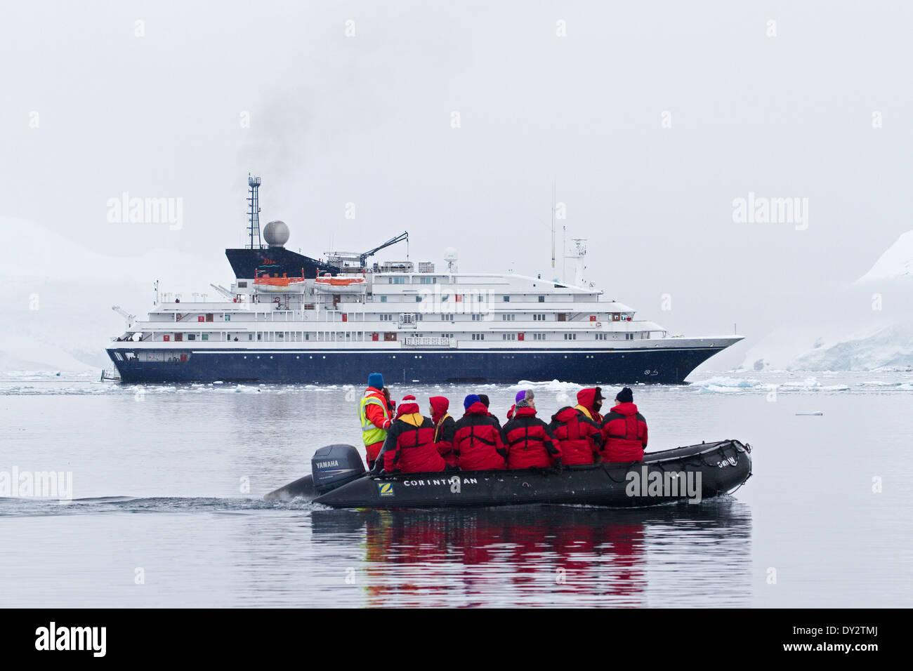 Antarctica Cruise Ship Antarctica Tourism Expedition With Tourists - Antartica cruise ship