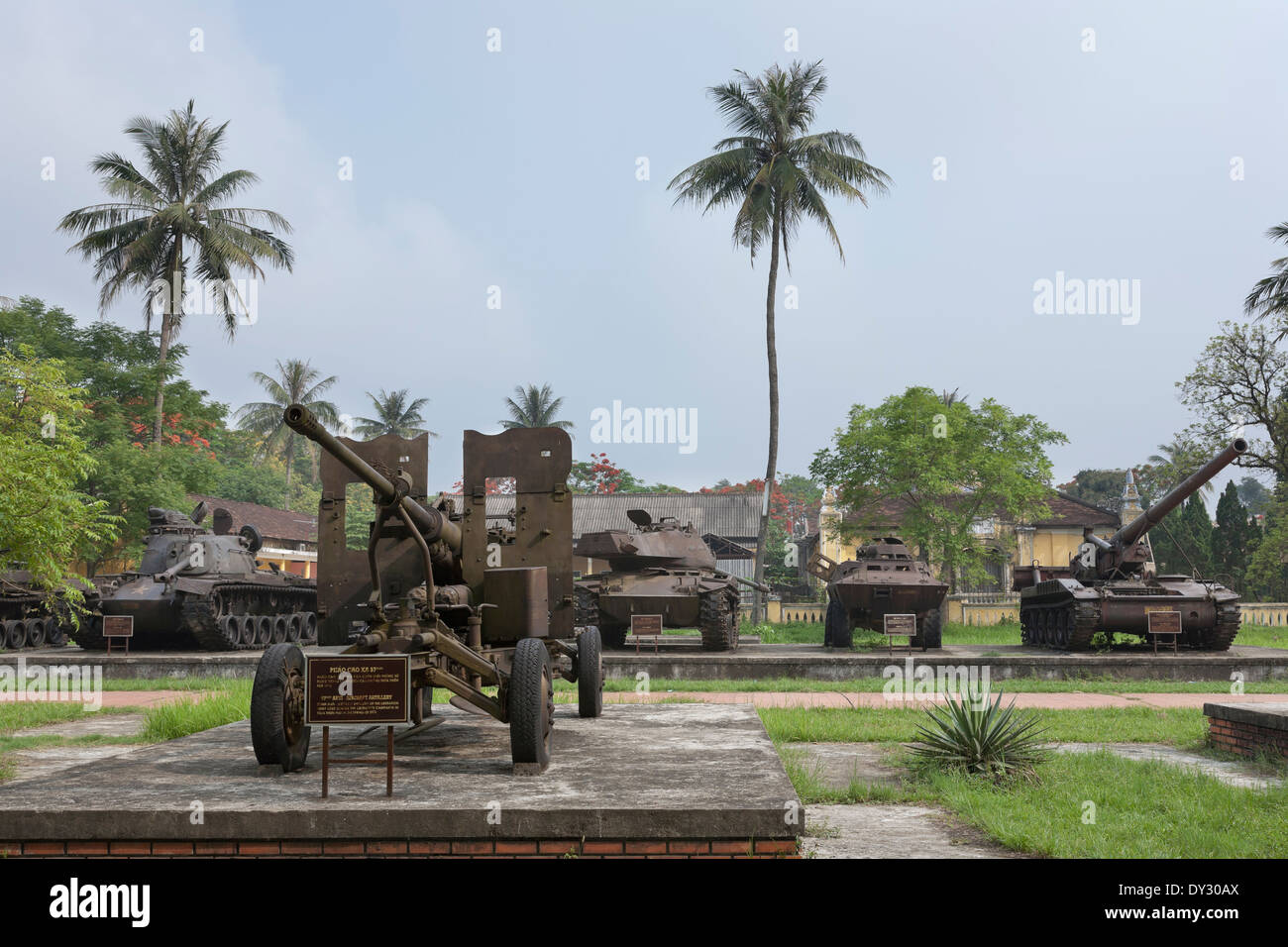 Tanks At Military Museum Hue Vietnam Stock Photo Royalty Free - Military museums in us