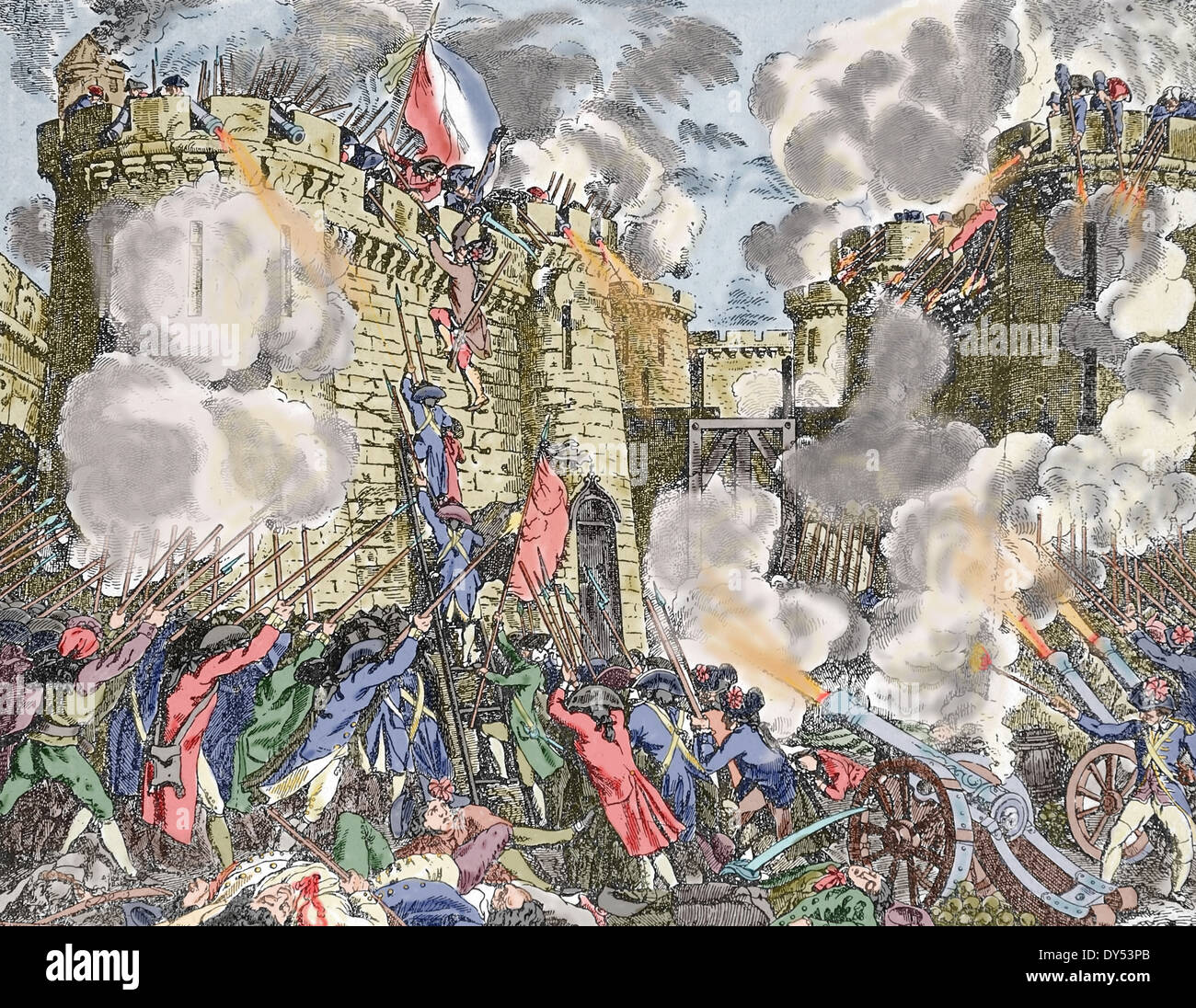 Storming Of The Bastille Pictures To Pin On Pinterest