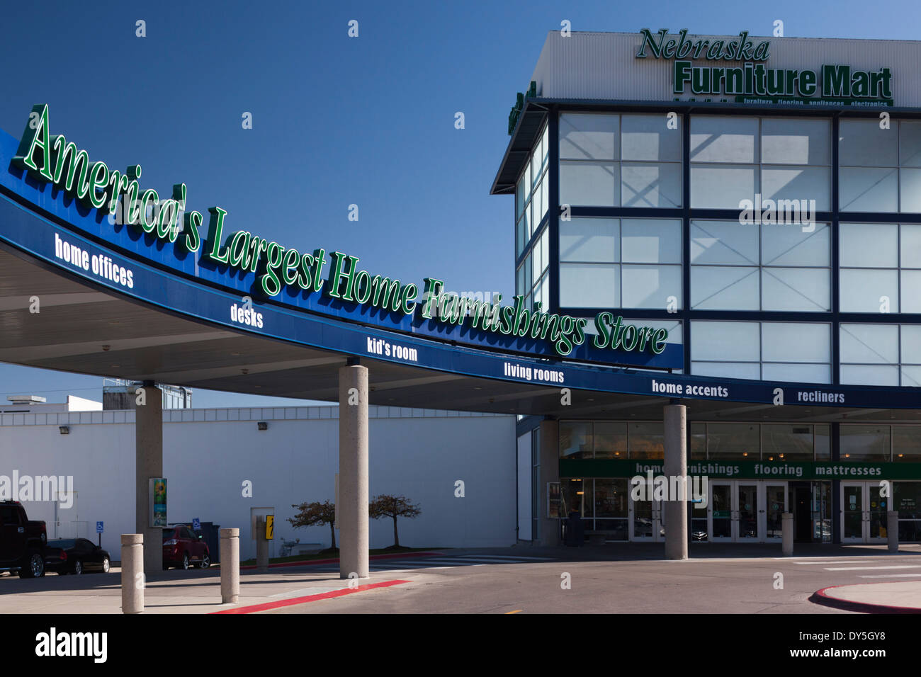 USA, Nebraska, Omaha, Nebraska Furniture Mart, Largest Furniture Store In  The USA