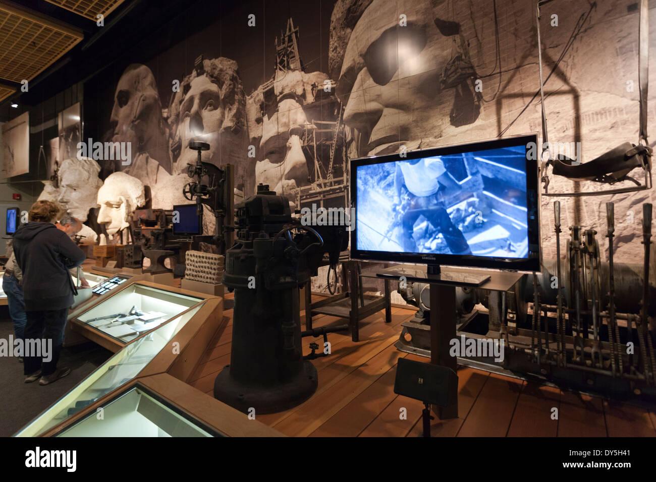 USA South Dakota Black Hills National Forest Keystone Mount - Black museums in usa