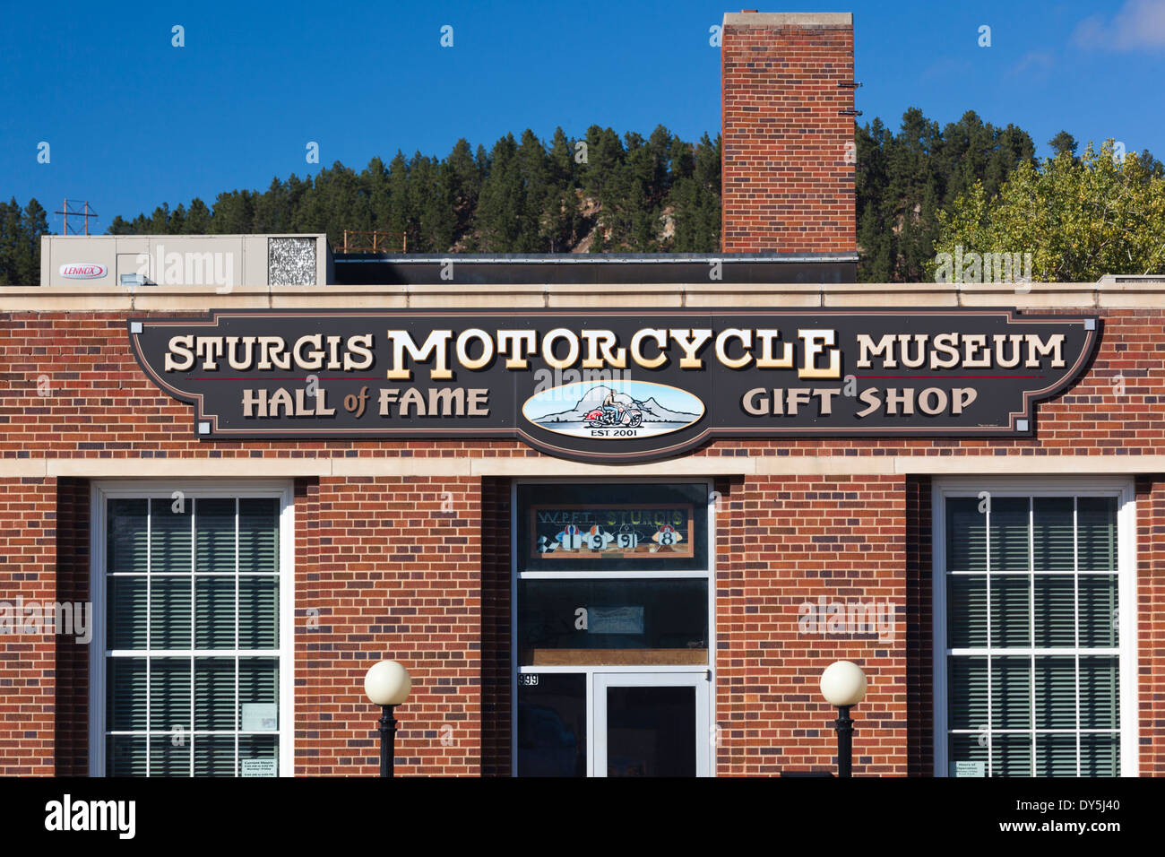 USA South Dakota Black Hills National Forest Sturgis Sturgis - Black museums in usa