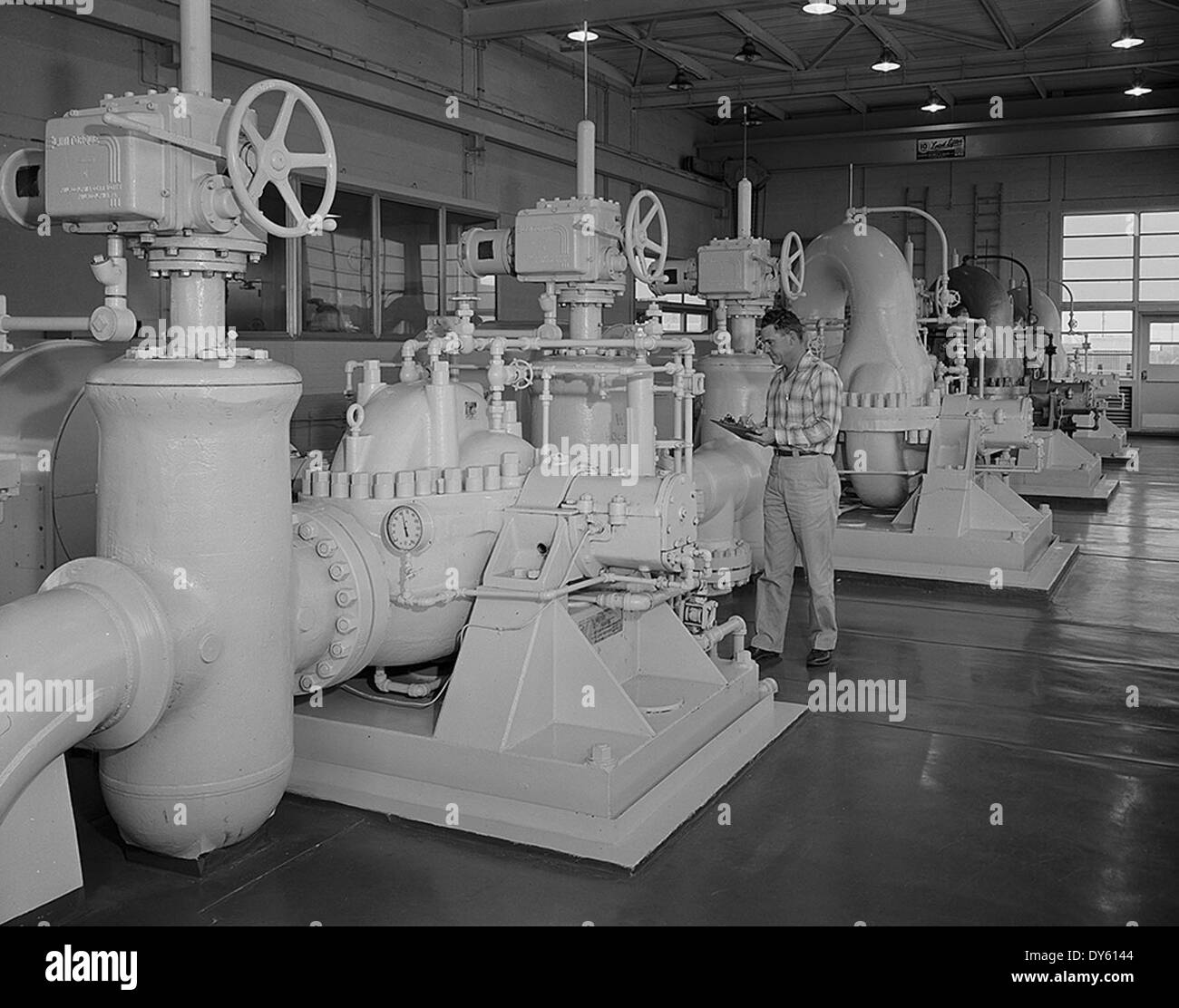 Gulf Oil Corporation, Waddell Gasoline Plant, West Texas Stock ...