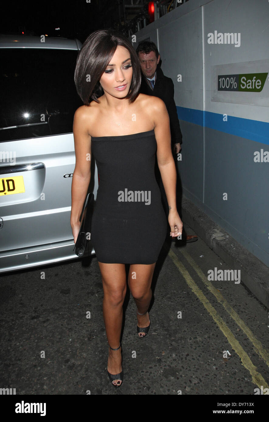 Frankie Sandford At A ...